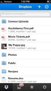 Dropbox App Gets New PDF Viewer Date Sort d Folder Push