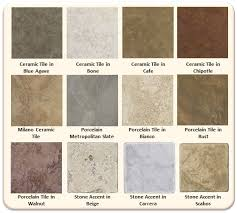 tile floor colors flooring design