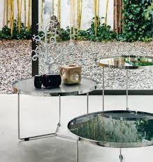 billy metalltisch s mit glasplatte silber öser