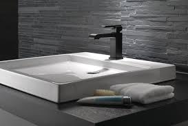 Delta Trinsic Bathroom Faucet Black by Matte Black Style For The Bathroom