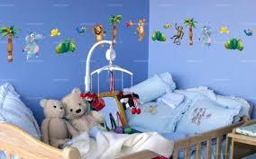 frise autocollante chambre bébé sticker frise animaux de la jungle