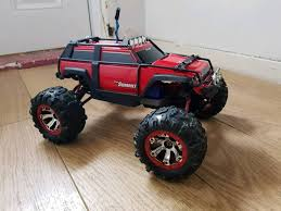 Traxxas Summit 1/16 4WD. Boxed. Rc Car Truck Crawler | In Leicester ... Traxxas Bigfoot Rc Monster Truck 2wd 110 Rtr Red White Blue Edition Slash 4x4 Short Course Truck Neobuggynet Offroad Vxl 2wd Brushless Cars For Erevo The Best Allround Car Money Can Buy X Maxx Axial Yetti Trophy Trucks Showcase Youtube Adventures 30ft Gap With A 4x4 Ultimate Mark Jenkins Scale Cars Best Car Reviews Guide Stampede Ripit Fancing Project Summit Lt Cversion Truck Stop Boats Hobbytown