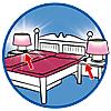 schlafzimmer mit nähecke 70208