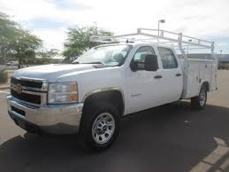100 Chevy Utility Trucks USED 2013 CHEVROLET SILVERADO 3500HD SERVICE UTILITY TRUCK FOR