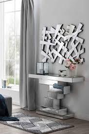 salesfever wandspiegel in abstraktem splitterdesign