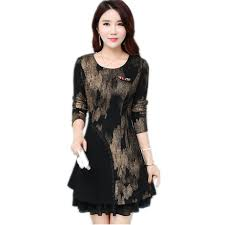Spring Fashion New Modern Vintage Printed Elegant Dress Ethnic Style Luxury Womens Floral Print Flowy Party