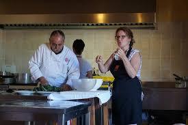 cours de cuisine avec le chef lino amantini et notre
