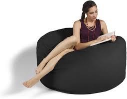 Jaxx Bean Bag Gaming Chair, Black, 4': Amazon.co.uk: Kitchen ...