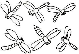 Cute Dragonfly Coloring Pages Dragon Fly