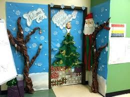 Christmas Office Door Decorating Ideas Pictures by Holiday Office Door Decorating Ideas Photos Holiday Door