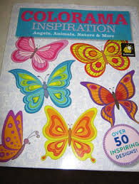 FREE New Colorama Inspiration Adult Coloring Book