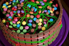 süßigkeiten schokoladen torte i mit