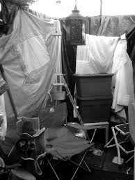 104 Studio Tent Cheapest Art Space Ever The Reflections On The God Of Wrath Lent Talk 2007 By Dr Jeffrey John Dean Of St Albans More Paintings In Progress From Jenny