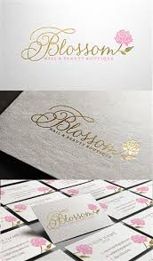 37 Elegant Feminine Beauty Salon Logo Designs For Blossom Nail