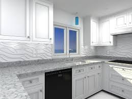 Glass Backsplash Ideas With White Cabinets by Tiles Backsplash White Kitchen Cabinets Glass Tile Backsplash