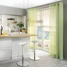 dezenter vorhang für die küche