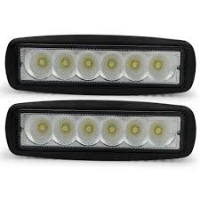 2pcs Led Car Daytime Running Light 18w Work Light 12v 24v For ...