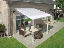 Palram Feria Patio Cover Uk by Palram Feria 10x14 Patio Cover Gray Free Shipping Feria Patio