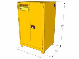 Flammable Liquid Storage Cabinet Requirements by Flammable Storage Cabinet Forklift Self Closing Doors 90