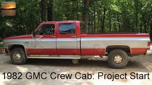 A Project Begins: 1982 GMC 1 Ton Crew Cab - YouTube Car Brochures 1982 Chevrolet And Gmc Truck Chevy Sierra C1500 Pickup Truck Item B5268 Sold Wedn 104 Best Wheels Us Images On Pinterest Suburban Dualrearwheel Crew Cab Sqaurebodies Blazer Blazers Gmc 4x4 Short Box Custom Used K1500 For Sale C7000 Tpi S15 Diesel Youtube After 4 Ord Lift Advance Vocational Ez Specifications Data Book Original