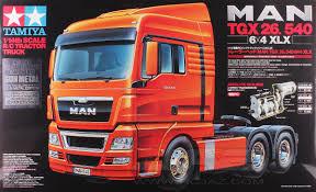 100 Ebay Rc Truck Details About Tamiya 56346 114 RC Tractor Kit MAN TGX 26540 6x4 XLX Gun Metal Edition