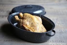 cuisine en cocotte poulet rôti en cocotte pommes de terre et patates douces