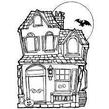 coloriage maison à colorier dessin à imprimer projets à