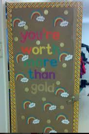 Spring Rainbow And Or St Patricks Day Door Bulletin Board Ideas