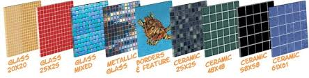 58mm x 58mm ceramic pool tiles buy online australia wide