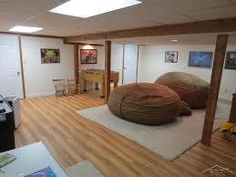 Fuf Bean Bag Chair Medium by Eclectic Basement With Hardwood Floors U0026 Exposed Beam In Saginaw