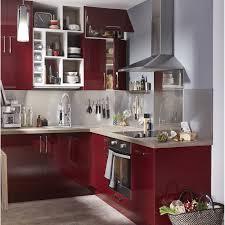 couleur cuisine leroy merlin meuble de cuisine delinia griotte leroy merlin