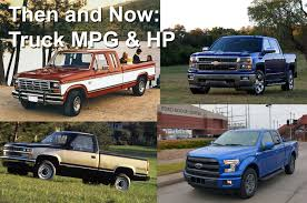 100 Mpg Trucks Truck Power And Fuel Economy Through The Years