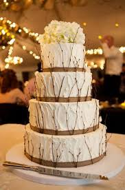 Beautiful Rustic Wedding Cakes