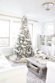 Thus Giving Me My Very Own Winter Wonderland Here In Bright White Living Room Dont You Just Love The Magic That Can Create With Seasonal Decor
