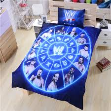 famouse wwe bedding duvet cover wwe wrestling bedding unique gift