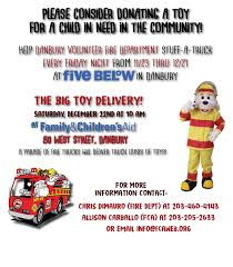 Danbury Volunteer Fire Department Toy Drive!