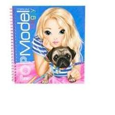 TOPModel Create Your Doggy Colouring Book