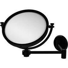 Extendable Bathroom Mirror Walmart by 8 Inch Wall Mounted Extending Make Up Mirror 3x Magnification
