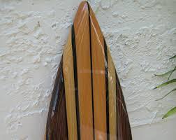Decorative Surfboard Wall Art by Fake Surfboard Etsy