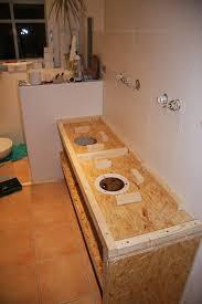 waschtisch mit aufsatz waschbecken bauanleitung zum