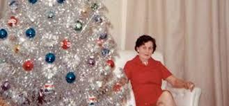 31 Mid Century Women Who Really Enjoyed Their Aluminum Christmas Trees