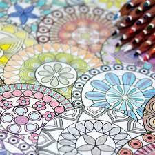 Korea 128 Pages Mandalas Coloring Book 12 Color Pencils For Adults Relieve Stress Secret Garden