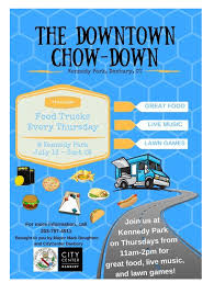 Downtown Chow-Down @ Kennedy Park, Danbury | Macaroni Kid