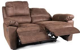 canapé de relaxation 2 places canapé de relaxation 2 places manuel cuir marron avec surpiqûre