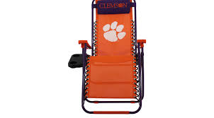 NCAA Zero Gravity Clemson Orange Chair - Reclining, Synthetic Ncaa Chairs Academy Byog Tm Outlander Chair Dabo Swinney Signature Collection Clemson Tigers Sports Black Coleman Quad Folding Orangepurple Fusion Tailgating Fisher Custom Advantage Zero Gravity Lounger Walmartcom Ncaa Logo Logo Chair College Deluxe Licensed Rawlings Deluxe 3piece Tailgate Table Kit Drive Medical Tripod Portable Travel Cane Seat