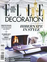 Interior Decorating Magazines South Africa by Elle Decoration Handmade By Me