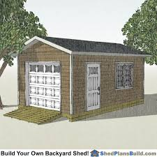 12x16 Slant Roof Shed Plans by 12x20 Shed Plans 12x20 Storage Sheds