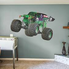 Grave Digger - Huge Officially Licensed Monster Truck Removable Wall ... New Bright Rc Ff 128volt 18 Monster Jam Grave Digger Chrome Hot Wheels Vehicle Shop Rc Truck Gravedigger V2 Modhubus Trucks Videos Remote Control Cruising With The Story Behind Everybodys Heard Of Costume 12 Steps Piece Gravedigger Monster Truck Grave Digger Hot Wheels Tyco Remote Hd Wallpaper 33 Download 4k Wallpapers For Free Tiresrims Losi Micro Crawler Digger Axial History Of Learn With Toy Youtube