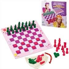 Chess And Princess Ladies Game