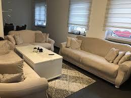sofa coach sitzgruppe wohnzimmer stau raum bettfunktion neu